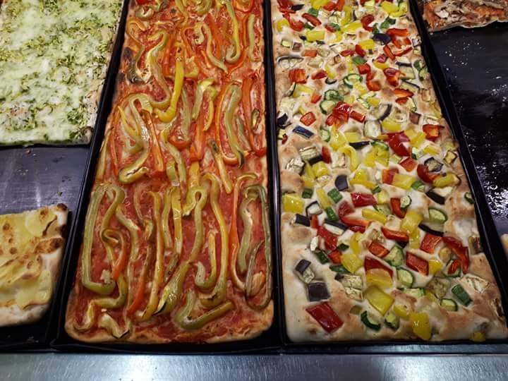 Pic of Pizza in Piazza - for veggies