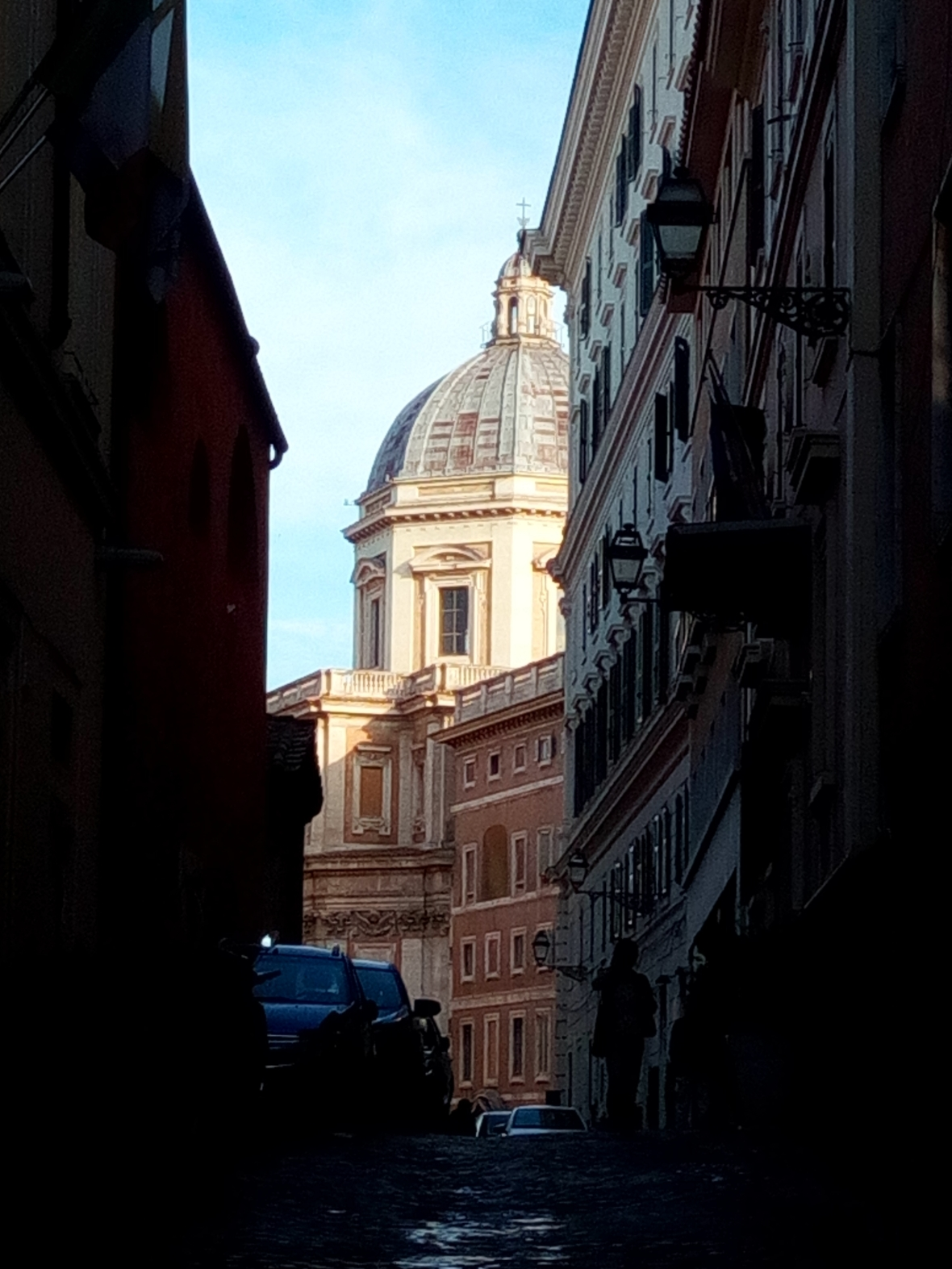Partial View on Santa Maria Maggiore