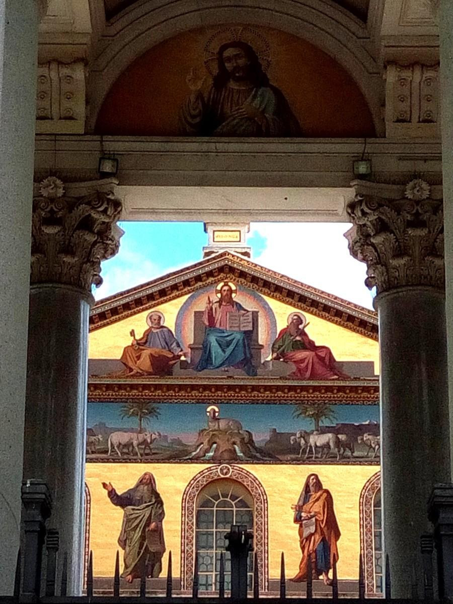 Rome - outside Saint Paul