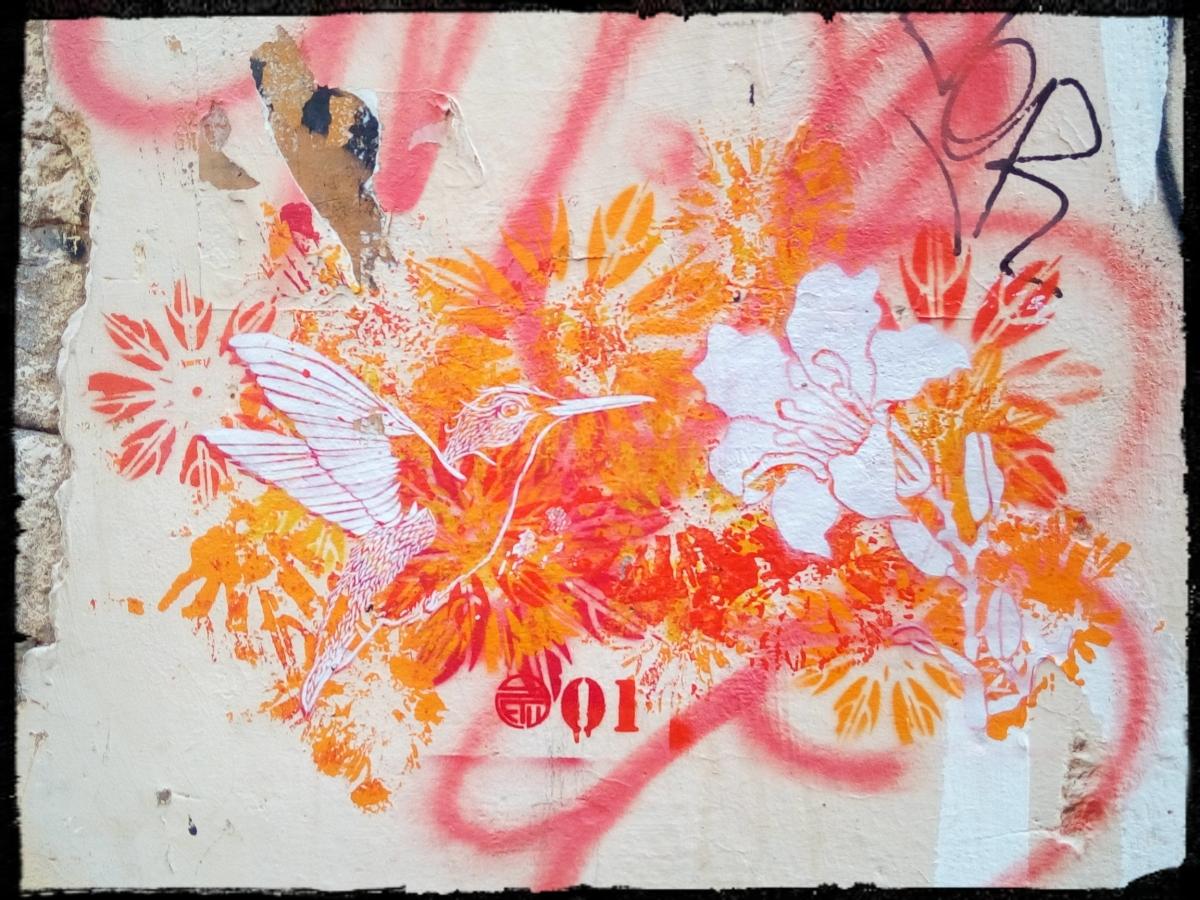 Rome - Street Art in Rione Monti