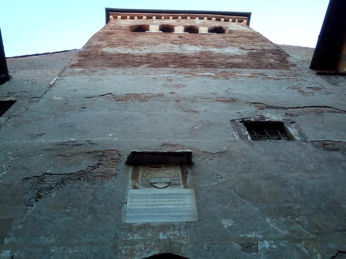 Tower between the 2 Courtyards