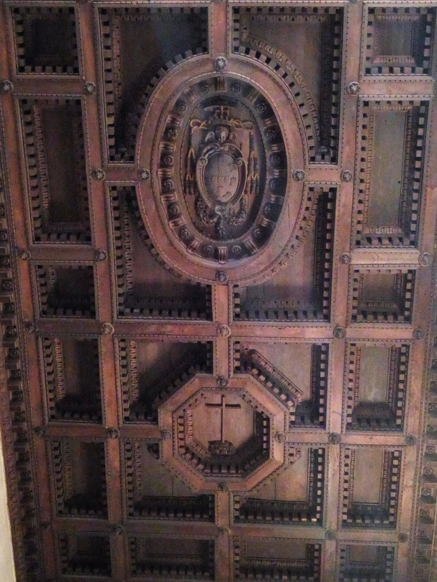 Ceiling of the Basilica