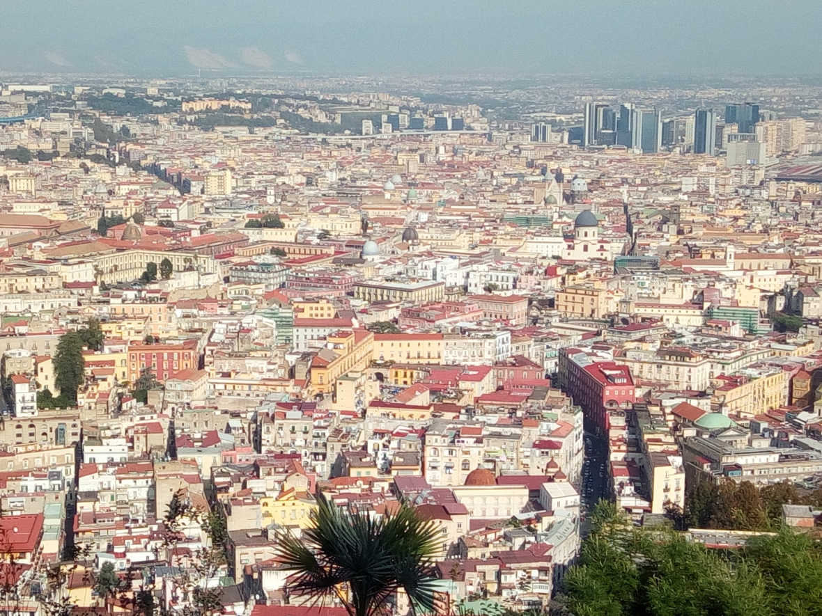The view on Naples