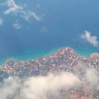 Landing in Athens