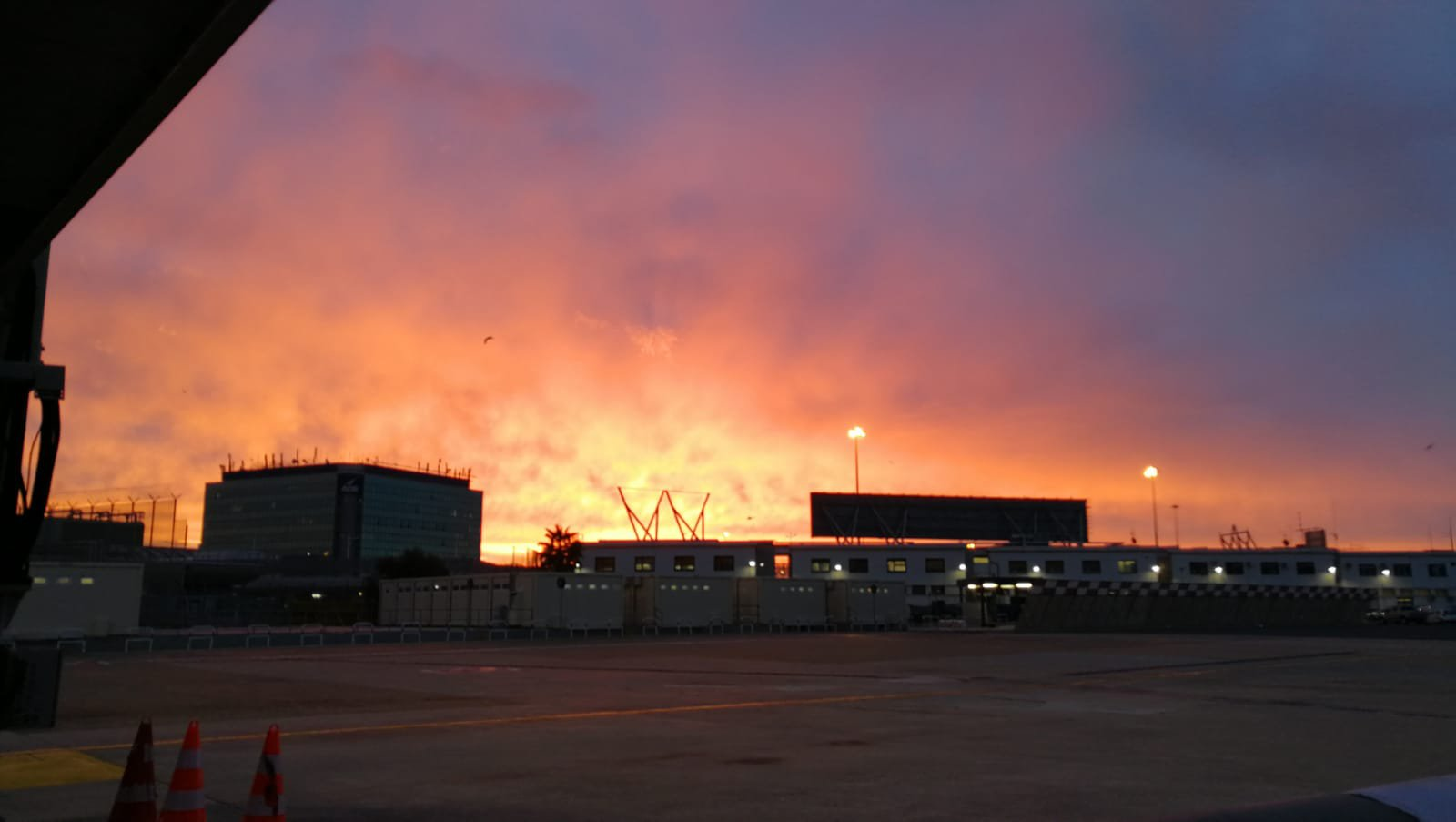 Fiumicino Airport (picture taken by Silva)
