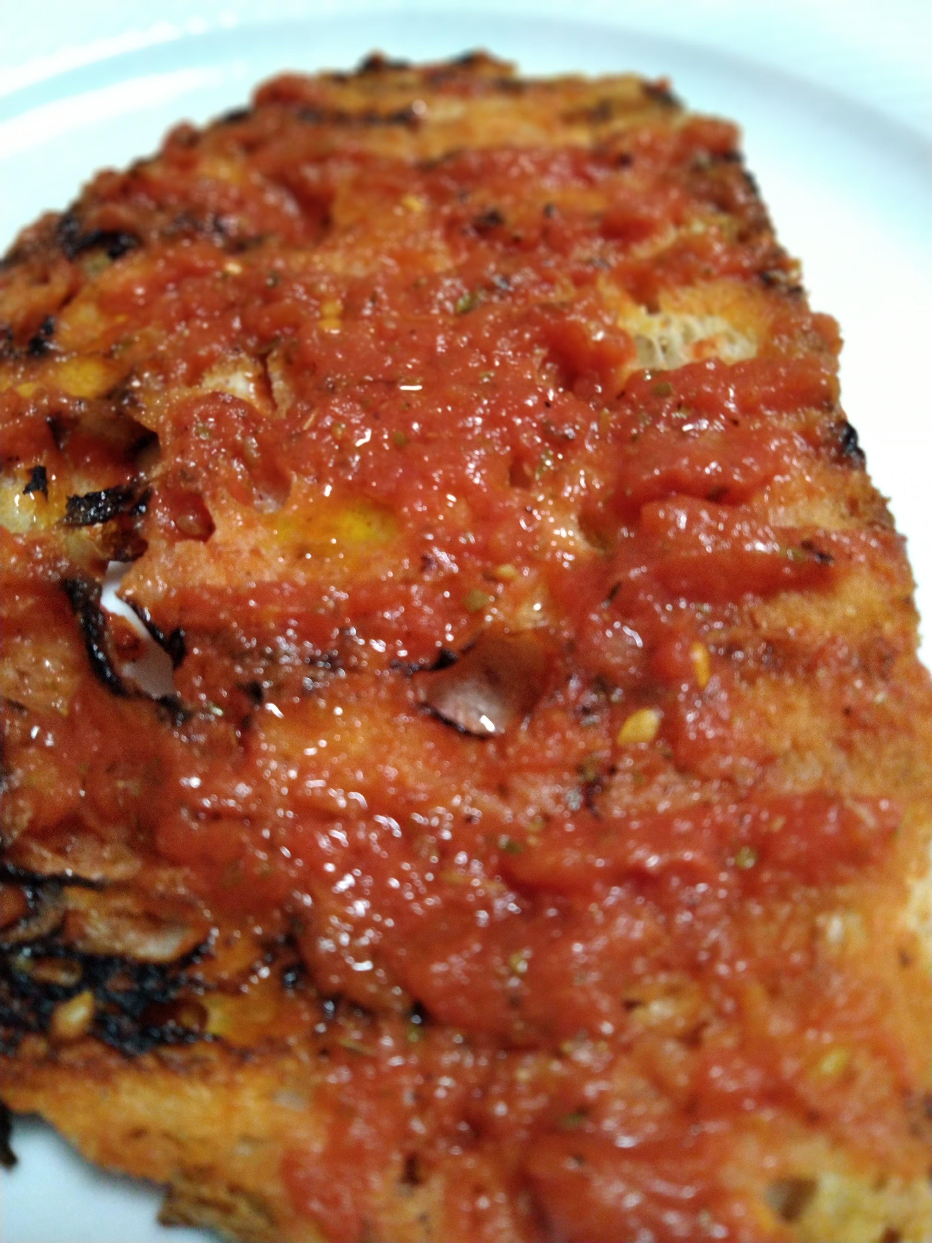 Bruschetta alla Pizzaiola