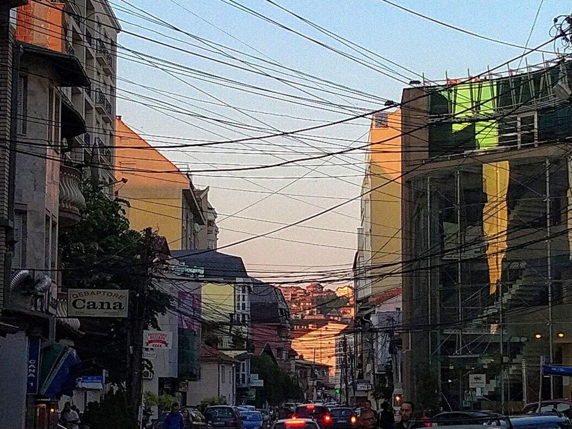 My favorite street in Pristina!