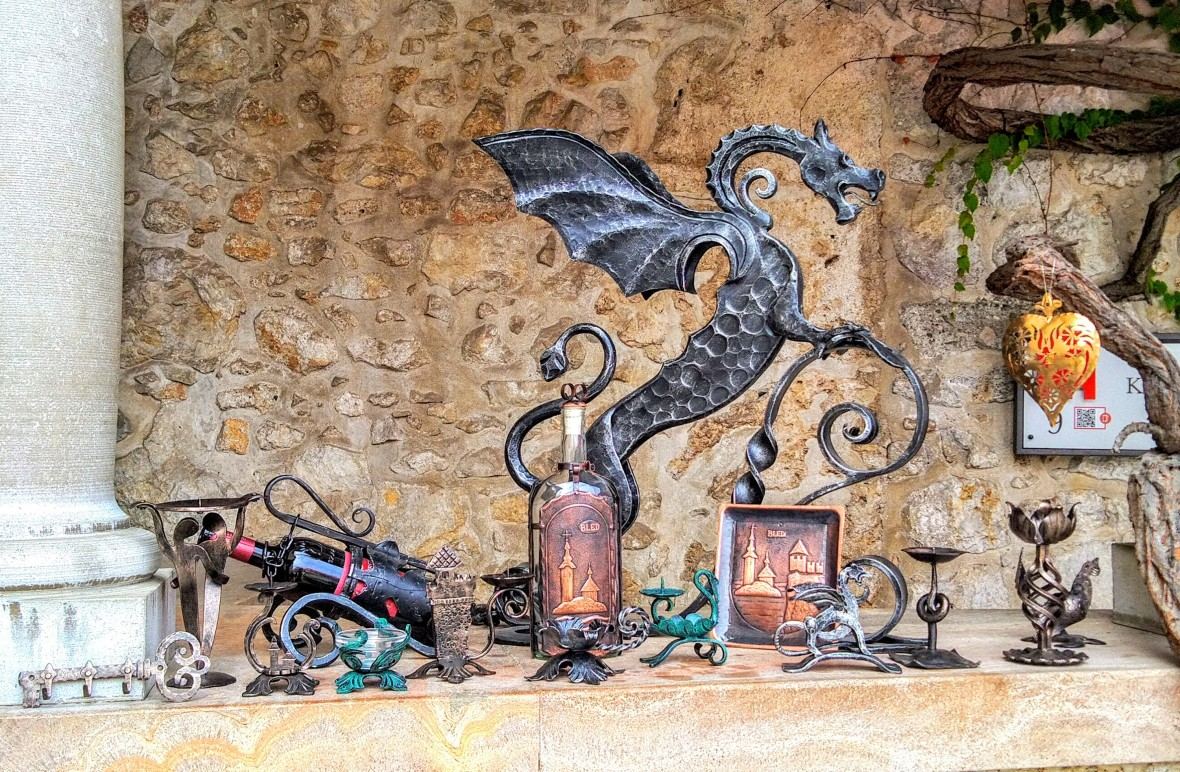Handmade crafted souvenirs from the Castle's forge